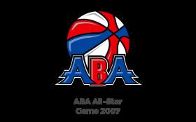 ABA Allstar Game Logo